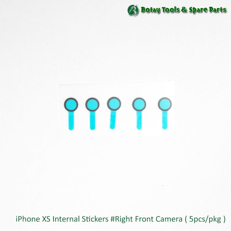 iPhone XS Internal Stickers #Right Front Camera ( 5pcs/pkg )