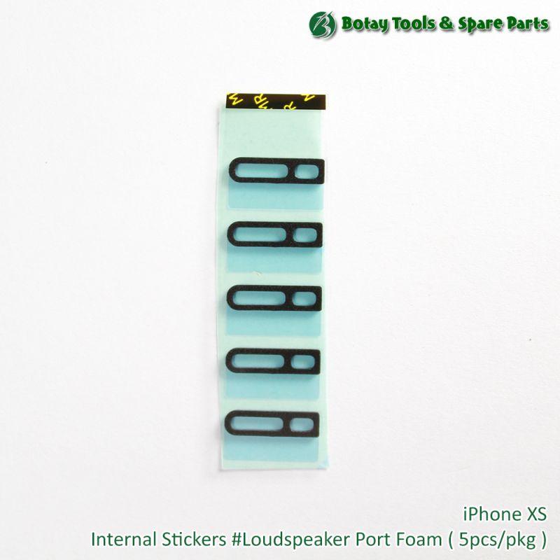iPhone XS Internal Stickers #Loud Speaker Port Foam ( 5 PCs/pkg )