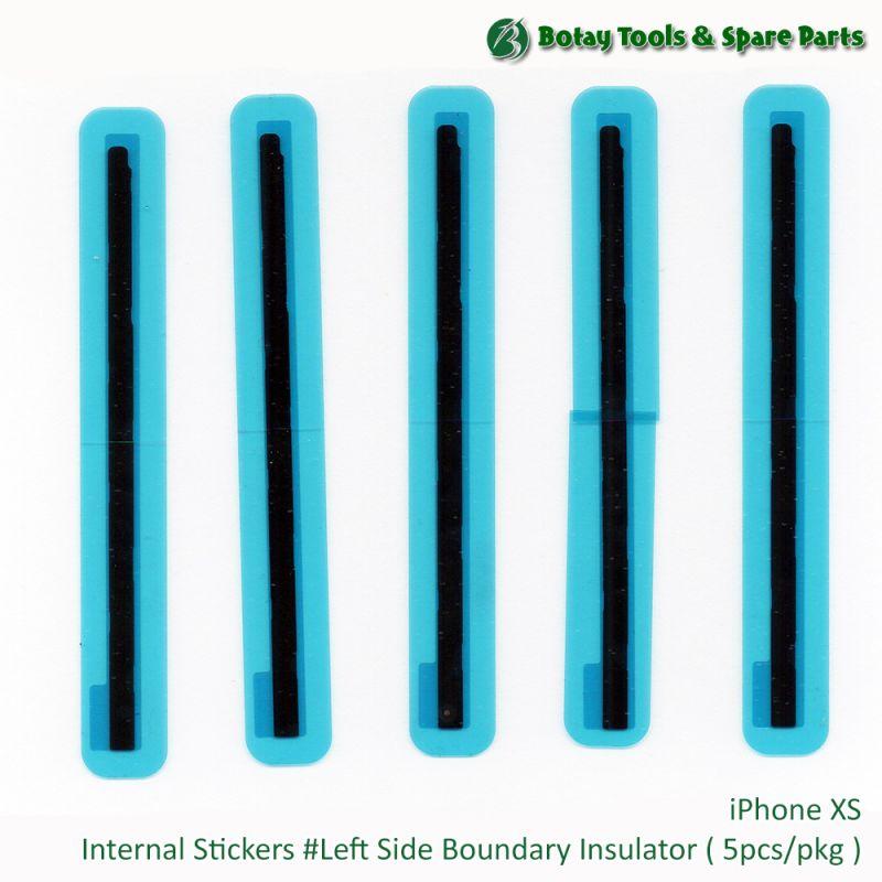 iPhone XS Internal Stickers #Left Side Boundary Insulator ( 5pcs/pkg )