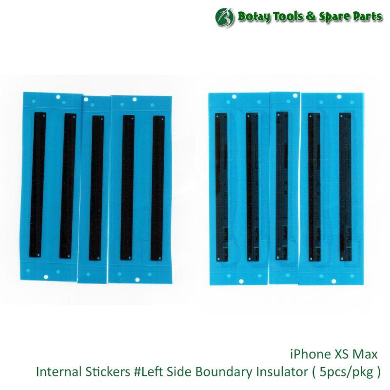 iPhone XS Max Internal Stickers #Left Side Boundary Insulator ( 5pcs/pkg )