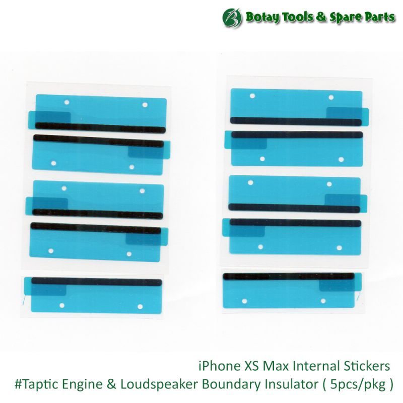 iPhone XS Max Internal Stickers #Taptic Engine & Loud Speaker Boundary Insulator ( 5 PCs/pkg )