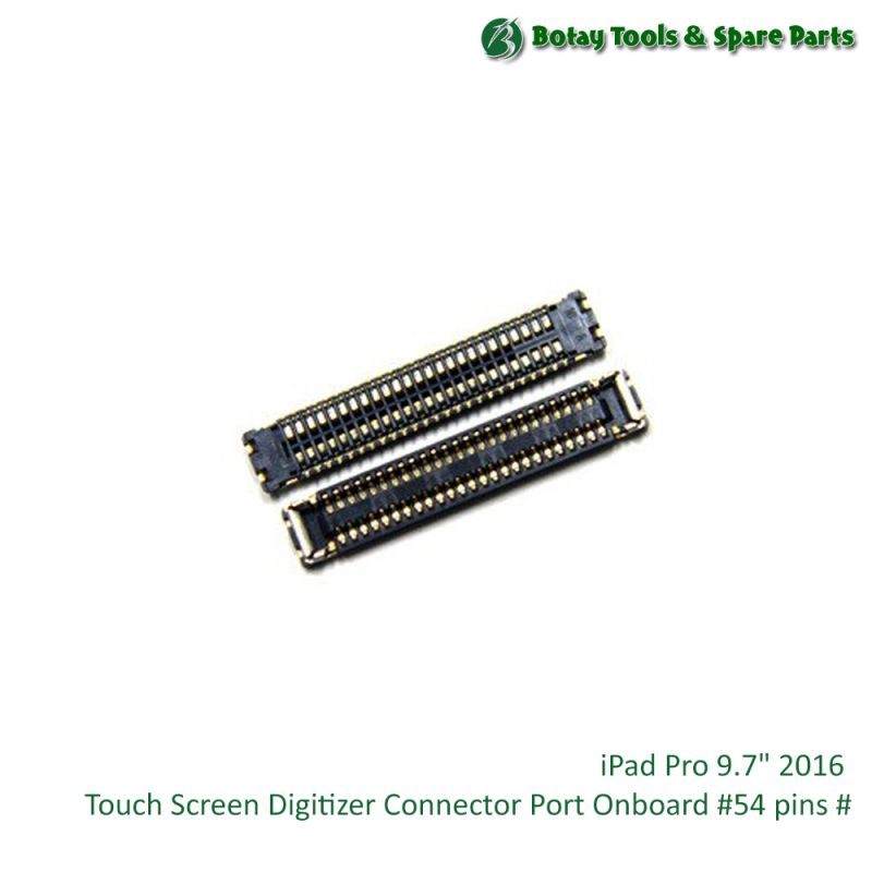 """iPad Pro 9.7"""" 2016 Touch Screen Digitizer Connector Port Onboard #54 pins #"""