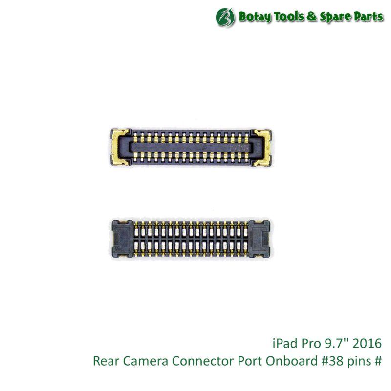 "iPad Pro 9.7"" 2016 Rear Camera Connector Port Onboard #38 pins #"