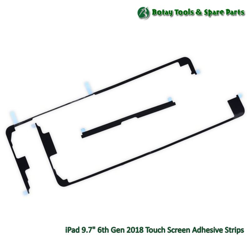 """iPad 9.7"""" 6th Gen 2018 Touch Screen Adhesive Strips"""