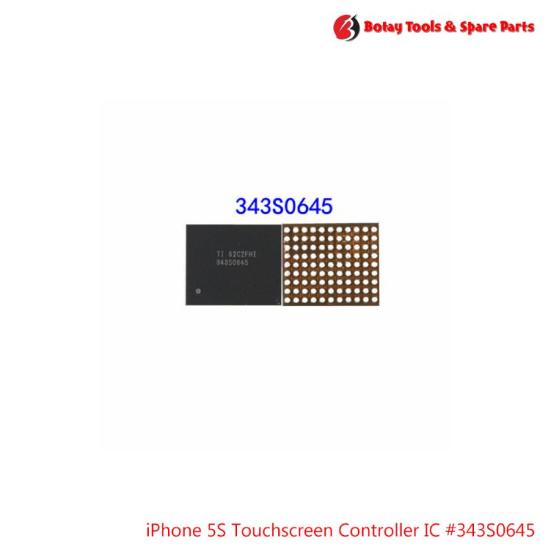 iPhone 5S-5C Touchscreen Controller IC #99 pins #U15 #SAGE2 #343S0645