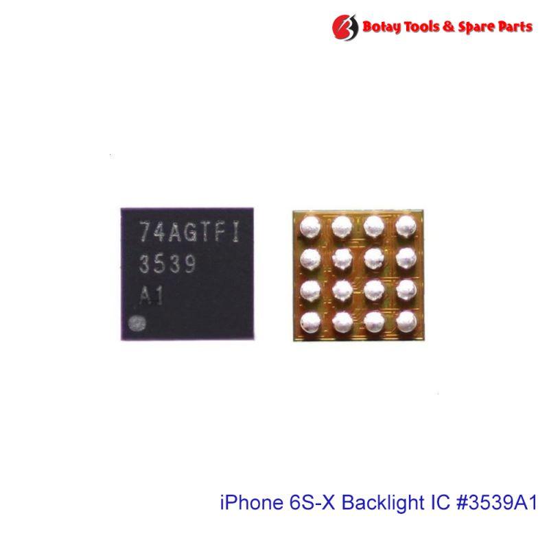 iPhone 7-7 Plus-8-8 Plus-XR-11 Backlight IC #16 pins #U3701 U4601 U5660 #LM3539A1 #3539 A1