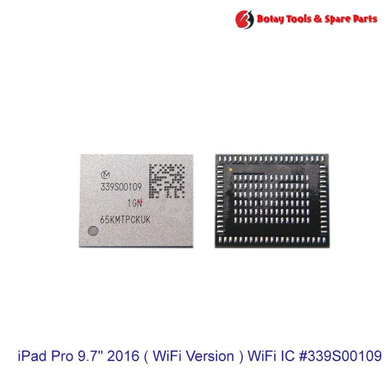 """iPad Pro 9.7"""" 2016 ( WiFi Version ) WiFi IC #160 pins# #  #339S00109"""