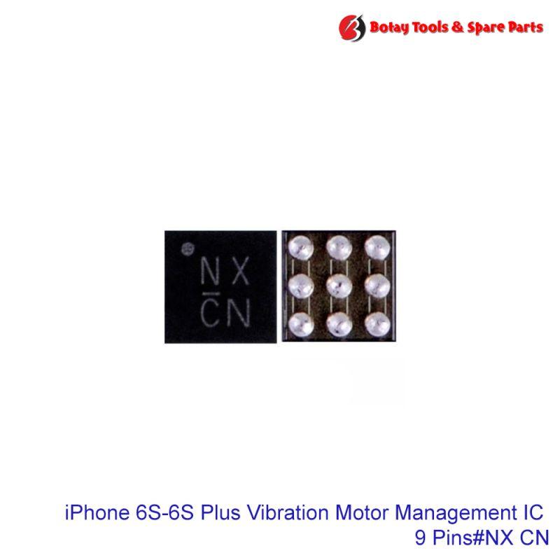 iPhone 6S-6S Plus-SE-7-7 Plus Vibration Motor Management IC #9 Pins #Q2300 Q2101 #CSD68827W #NX CN