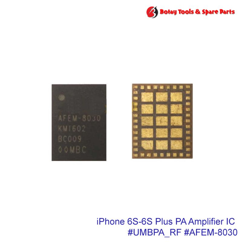 iPhone 6S-6S Plus Mid Band PA Duplexers Power Amplifier IC #55 pins #UMBPA_RF #AFEM-8030-AP1 #AFEM-8030