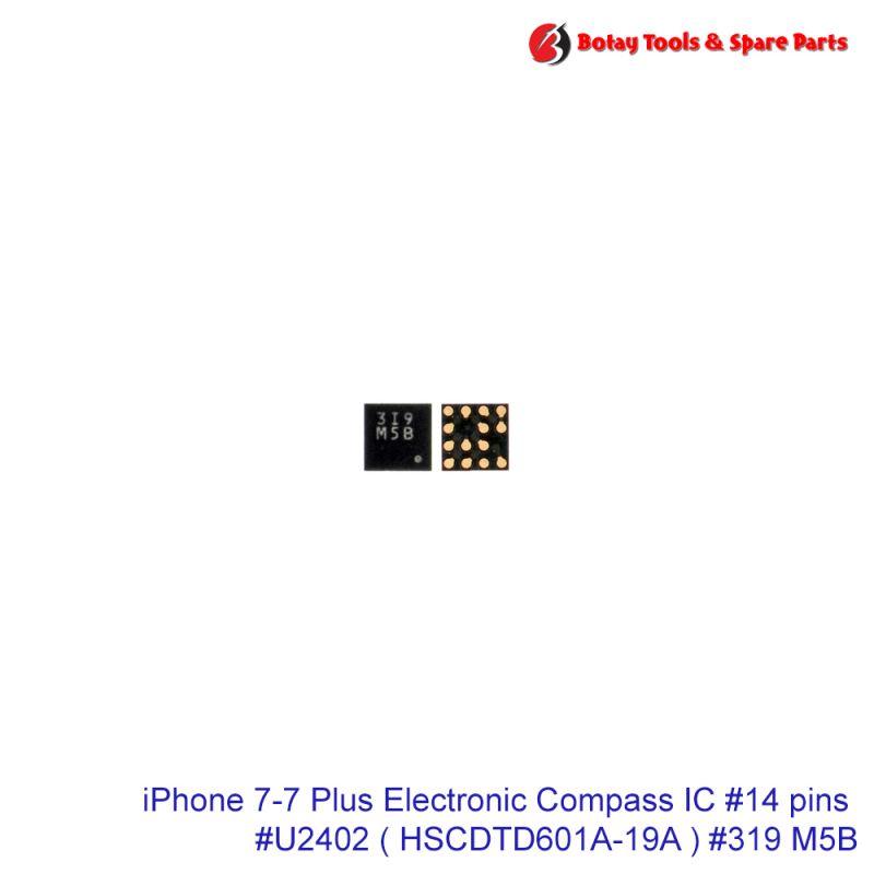 iPhone 7-7 Plus Electronic Compass IC #14 pins #U2402 # HSCDTD601A-19A  #319 M5B
