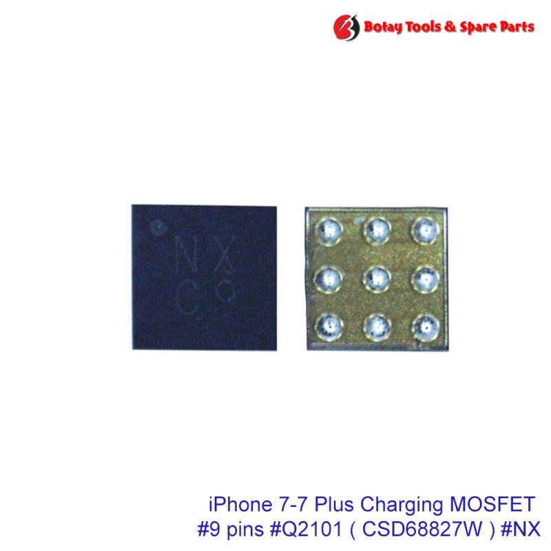 iPhone 7-7 Plus Charging MOSFET #9 pins #Q2101 # CSD68827W  #NX