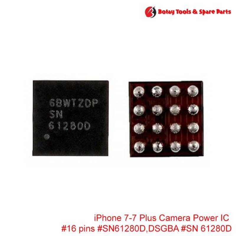 iPhone 7-7 Plus Camera Power IC #16 pins #U2301 # SN61280D,DSGBA  #SN 61280D