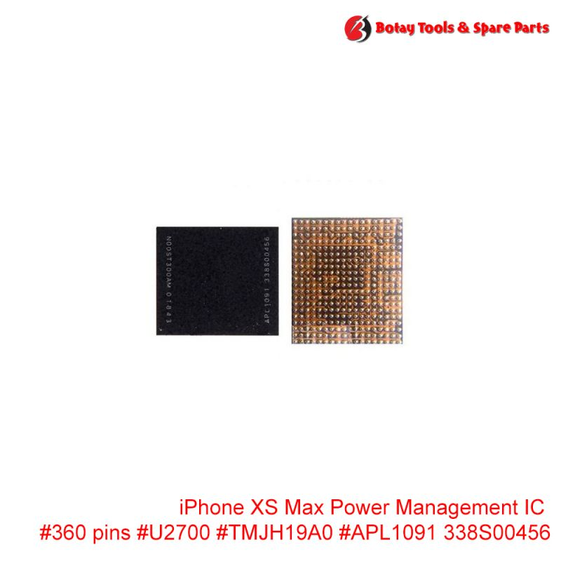 iPhone XS Max Power Management IC #360 pins #U2700 #TMJH19A0 #APL1091 338S00456
