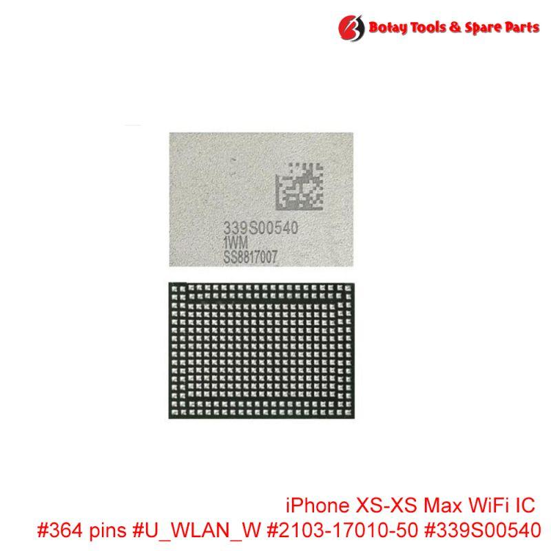 iPhone XS-XS Max WiFi IC #364 pins #U_WLAN_W #2103-17010-50 #339S00540