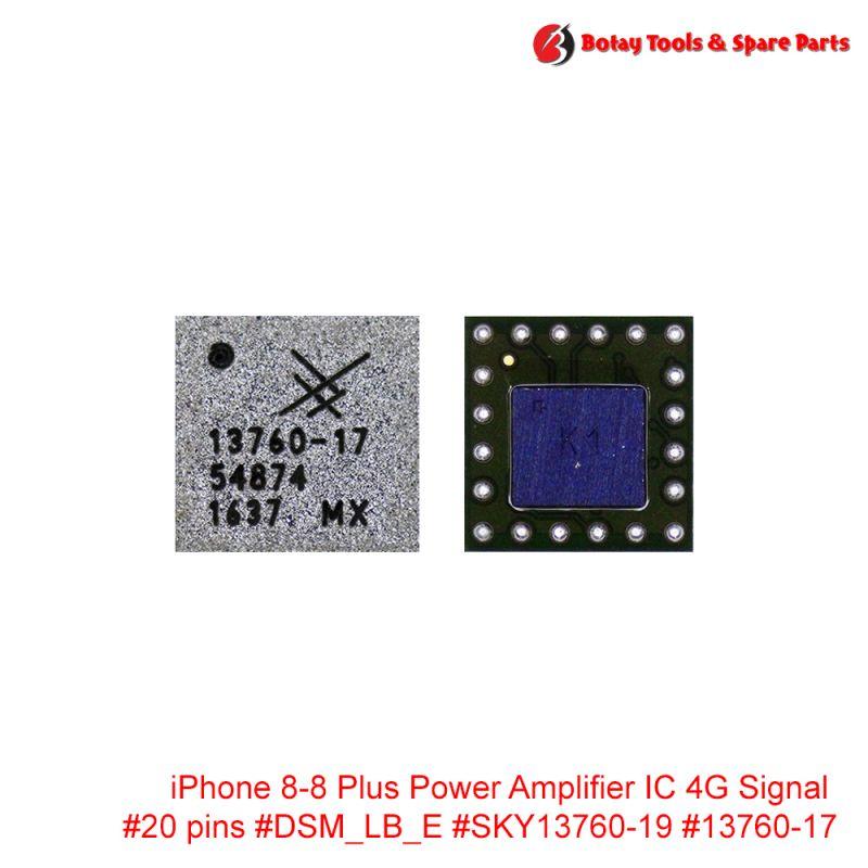 iPhone 8-8 Plus Power Amplifier IC 4G Signal #20 pins #DSM_LB_E #SKY13760-19 #13760-17
