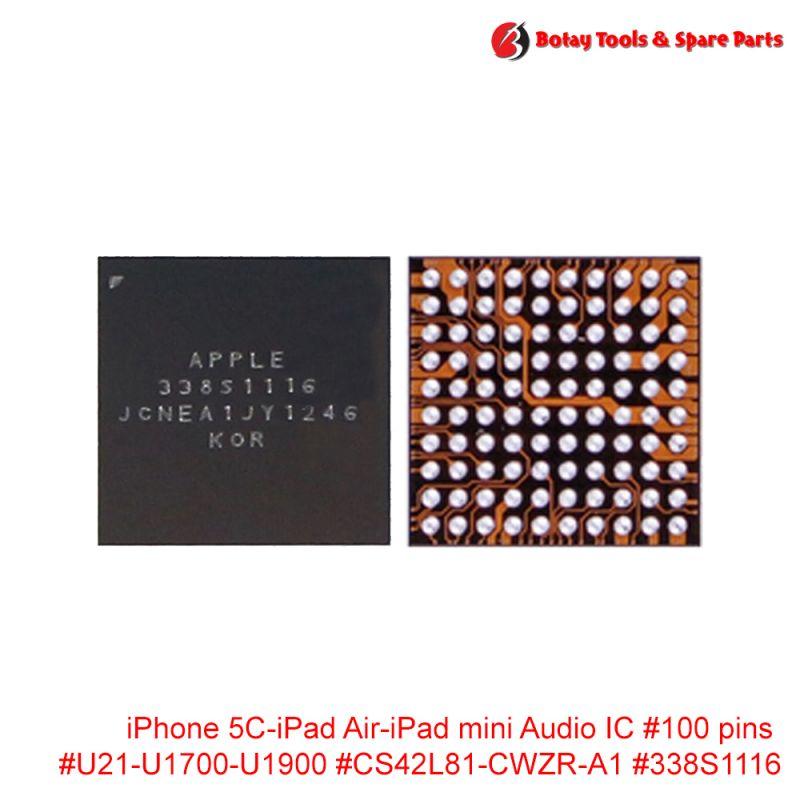 iPhone 5C-iPad Air-iPad mini Audio IC #100 pins #U21-U1700-U1900 #CS42L81-CWZR-A1 #338S1116