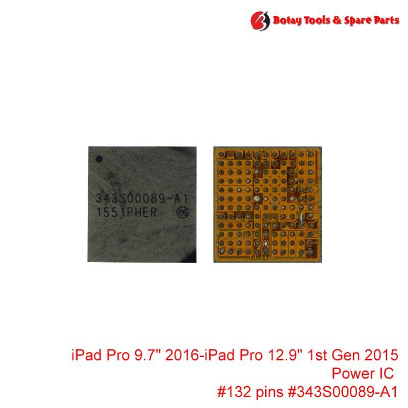 """iPad Pro 9.7"""" 2016-iPad Pro 12.9"""" 1st Gen 2015 Power IC #132 pins # # #343S00089-A1"""