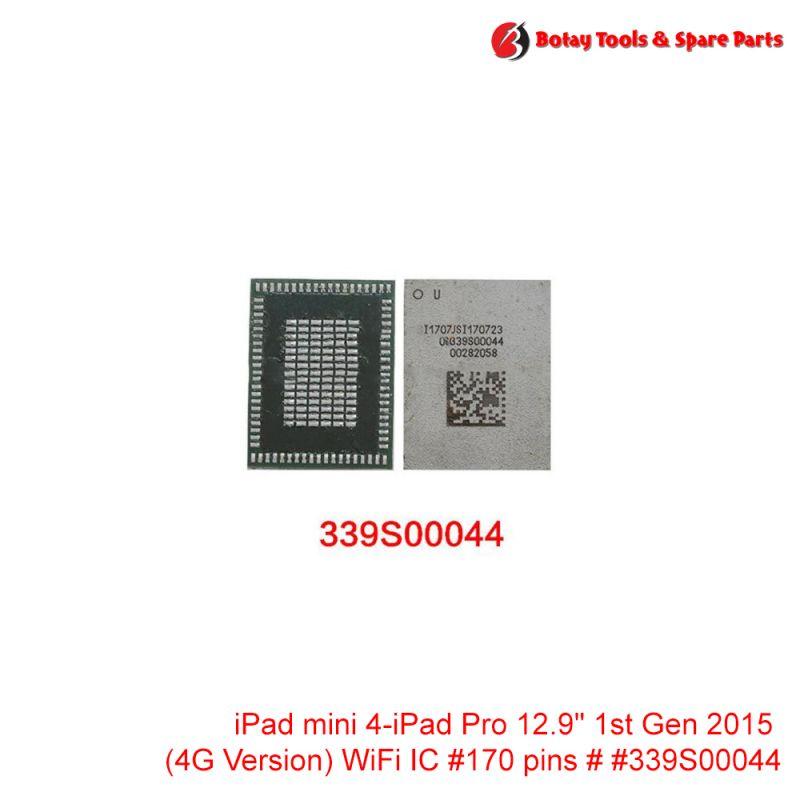 """iPad mini 4-iPad Pro 12.9"""" 1st Gen 2015 (4G Version) WiFi IC #170 pins # # #339S00044"""