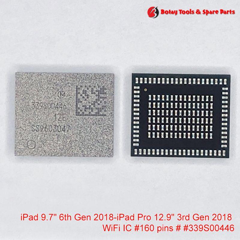 """iPad 9.7"""" 6th Gen 2018-iPad Pro 12.9"""" 3rd Gen 2018 WiFi IC #160 pins # # #339S00446"""