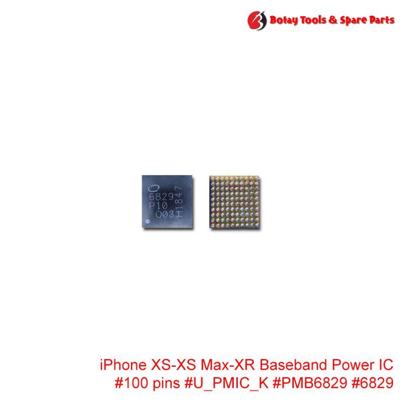 iPhone XS-XS Max-XR Baseband Power IC #100 pins #U_PMIC_K #PMB6829 #6829