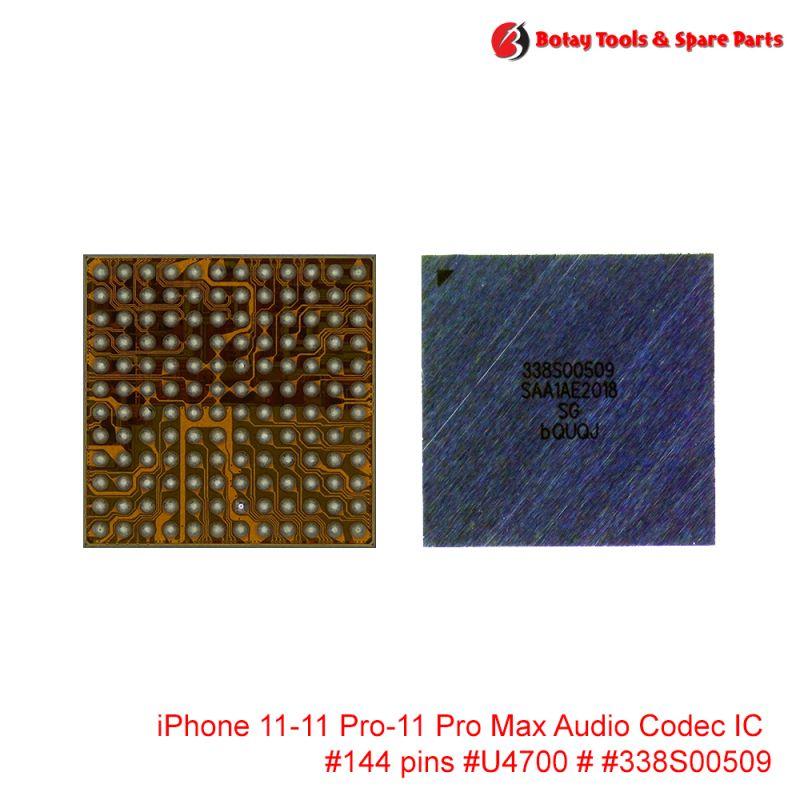 iPhone 11-11 Pro-11 Pro Max Audio Codec IC #144 pins #U4700 # #338S00509