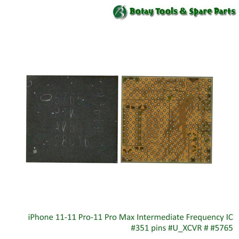 iPhone 11-11 Pro-11 Pro Max Intermediate Frequency IC #351 pins #U_XCVR # #5765