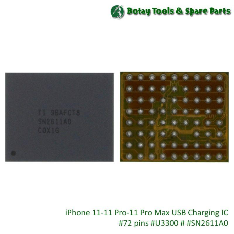 iPhone 11-11 Pro-11 Pro Max USB Charging IC #72 pins #U3300 # #SN2611A0
