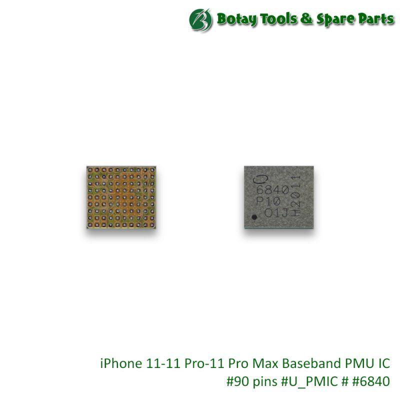 iPhone 11-11 Pro-11 Pro Max Baseband PMU IC #90 pins #U_PMIC # #6840