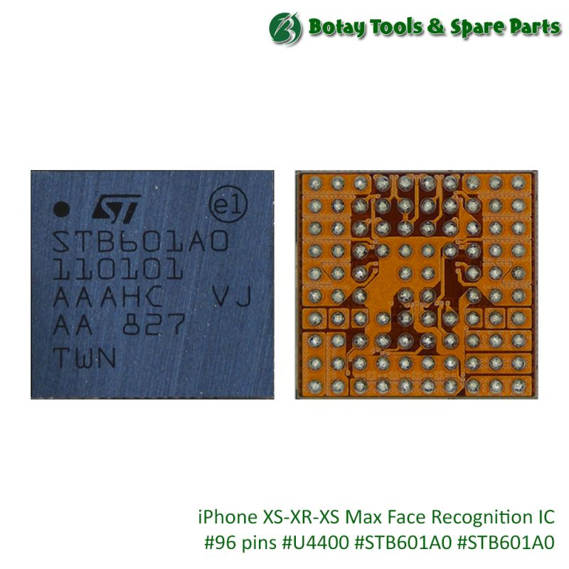 iPhone XS-XR-XS Max Face Recognition IC #96 pins #U4400 #STB601A0 #STB601A0