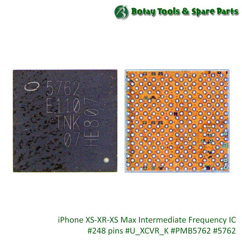iPhone XS-XR-XS Max Intermediate Frequency IC #248 pins #U_XCVR_K #PMB5762 #5762