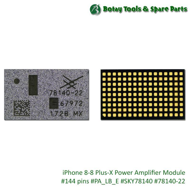 iPhone 8-8 Plus-X Power Amplifier Module #144 pins #PA_LB_E #SKY78140 #78140-22