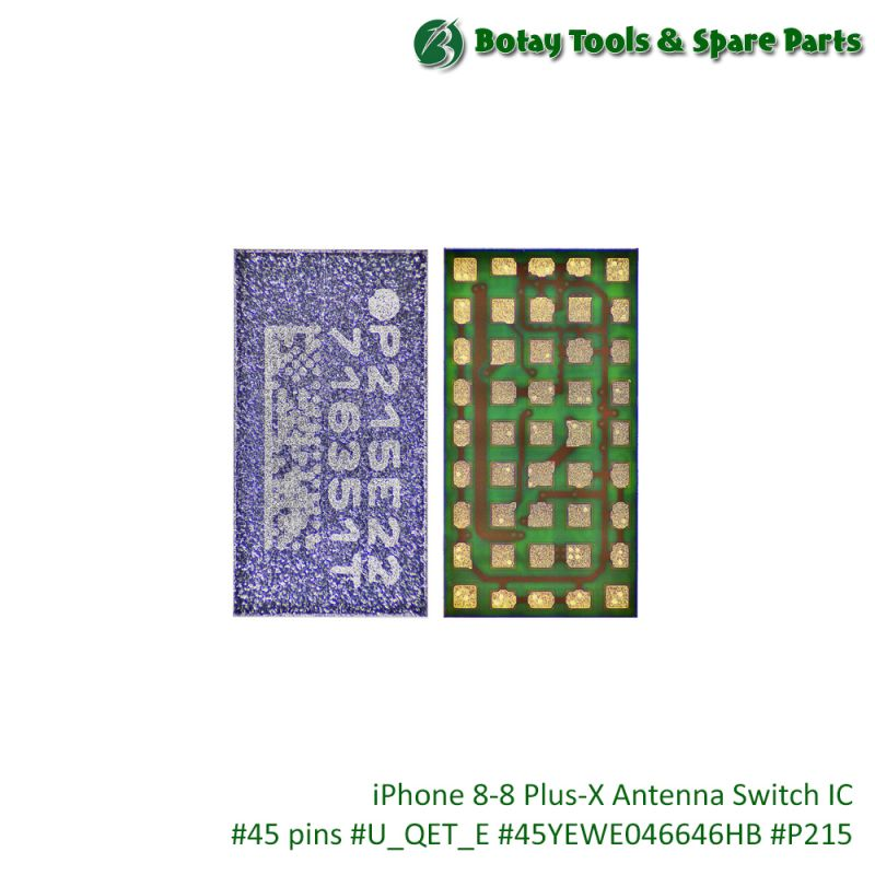 iPhone 8-8 Plus-X Antenna Switch IC #45 pins #U_QET_E #45YEWE046646HB #P215