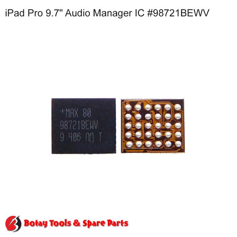 "iPad Air 2-iPad Pro 9.7"" 2016 Audio Manager IC #30 pins #U3200-U3250 # #98721BEWV"