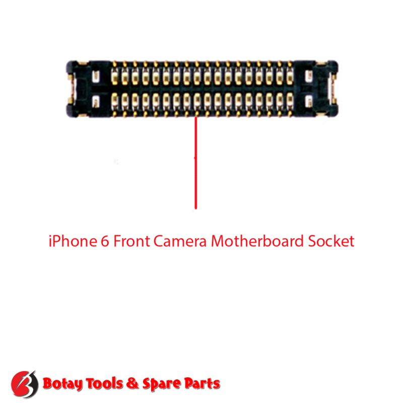 iPhone 6-6 Plus Front Camera FPC Connector Port Onboard #42 pins #J1111