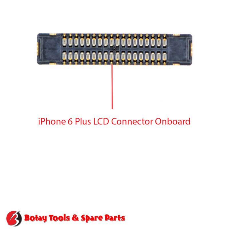 iPhone 6 Plus LCD FPC Connector Port Onboard #42 pins #J2019