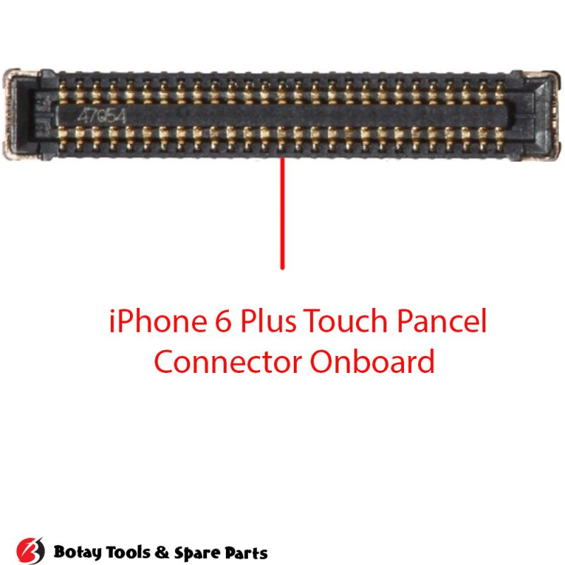iPhone 6 Plus Touch Panel FPC Connector Port Onboard #58 pins #J2401