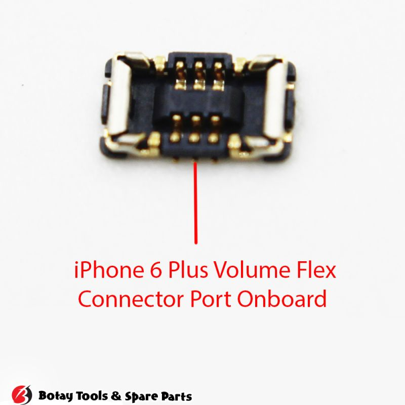 iPhone 6 Plus Volume Button FPC Connector Port Onboard #10 pins #J0802