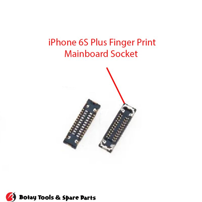 iPhone 6S-6S Plus 3D Touch Home Button FPC Connector Port Onboard #28 pins #J4100 #BB35CRA223A