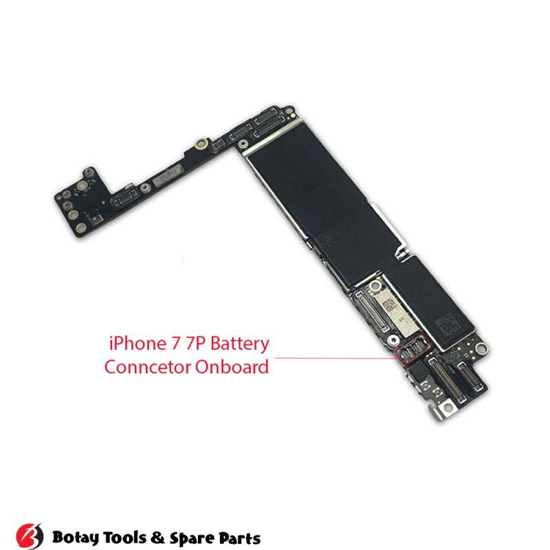 iPhone 7-7 Plus Battery FPC Connector Onboard #12 pins #J2201 #RCPT-BATT-SHORT
