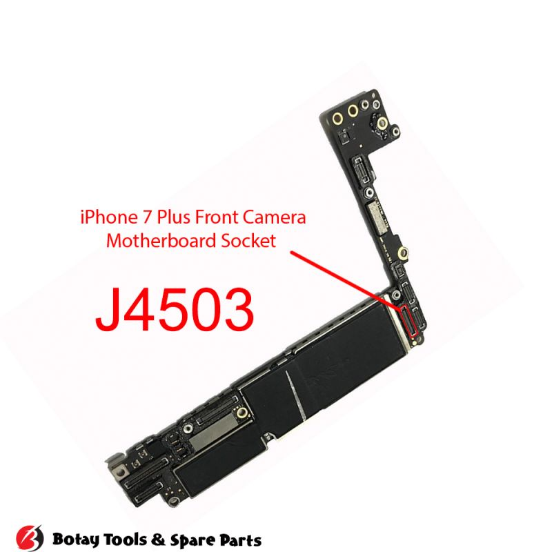 iPhone 7-7 Plus Front Camera FPC Connector Port Onboard #42 pins #J4503 #245858036201829