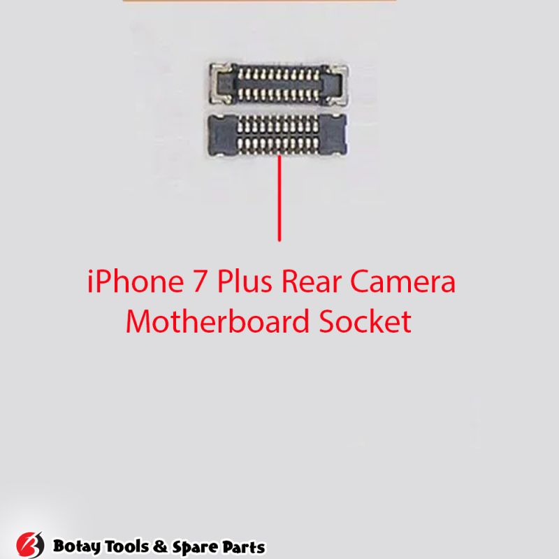iPhone 7 Plus Rear Camera FPC Connector Port Onboard #26 pins #J3001-J4501