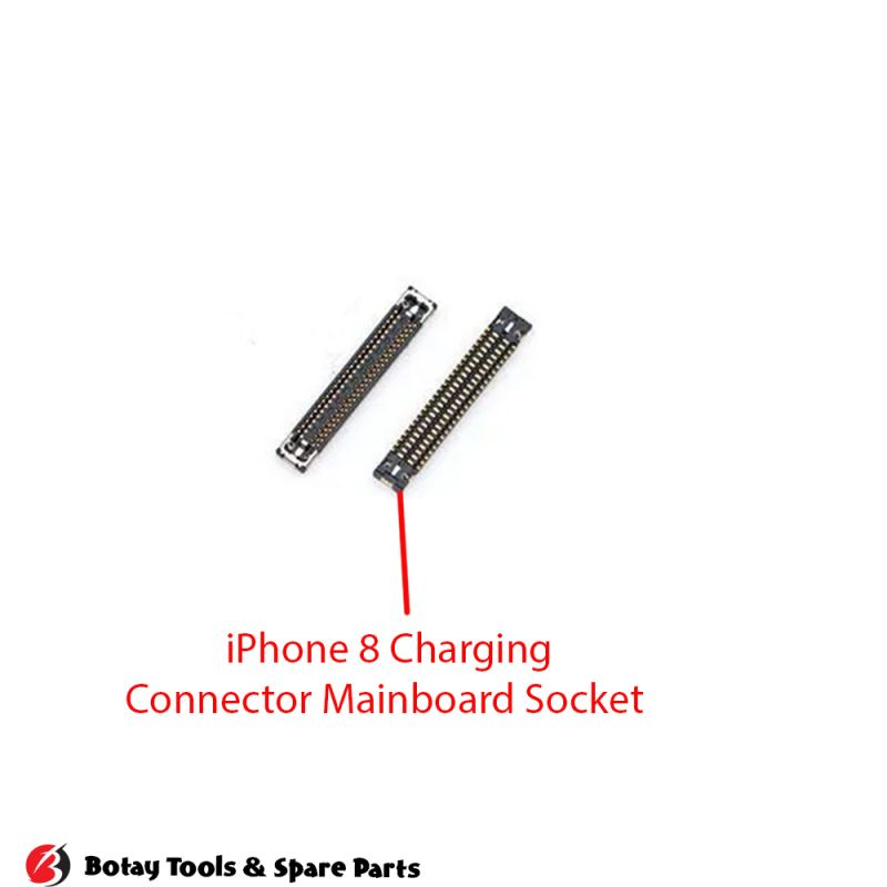 iPhone 8-8 Plus Charging FPC Connector Port Onboard #56 pins #J6400