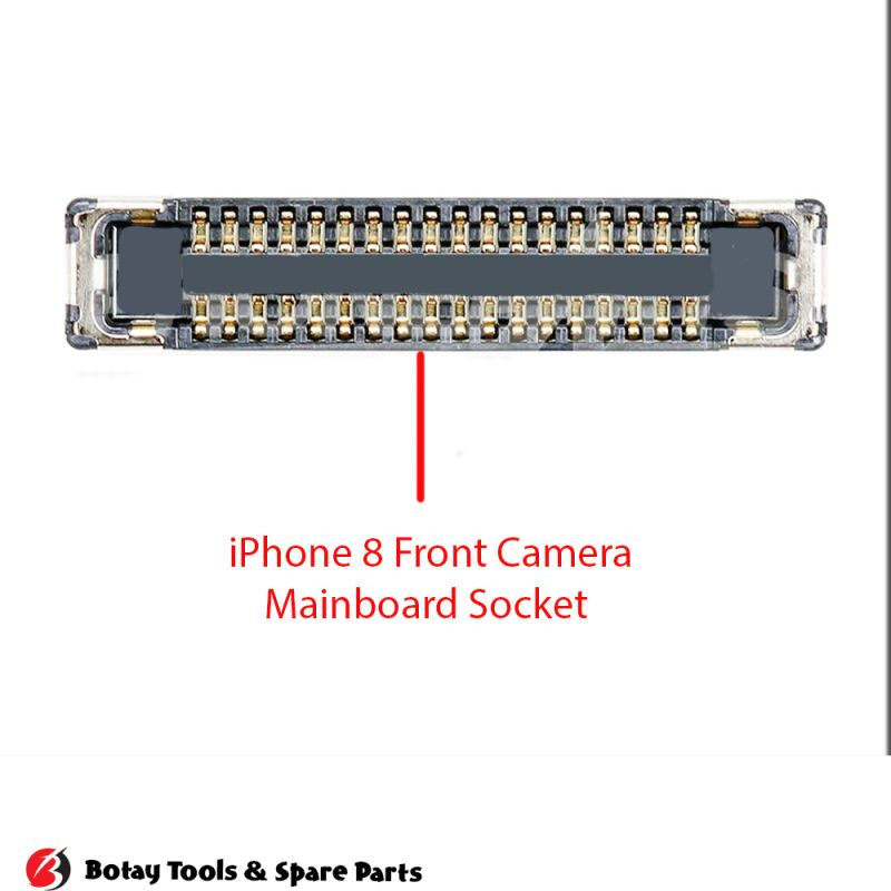 iPhone 8-8 Plus Front Camera FPC Connector port Onboard #42 pins #J4200 #245858036201829