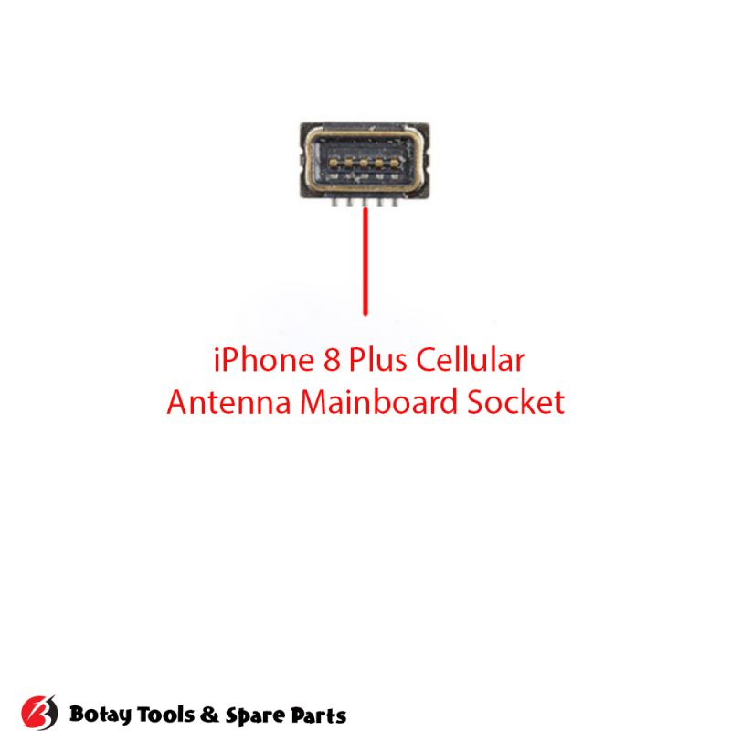 iPhone 8-8 Plus Cellular Antenna FPC Connector Port Onboard #7 pins #JLAT_KF