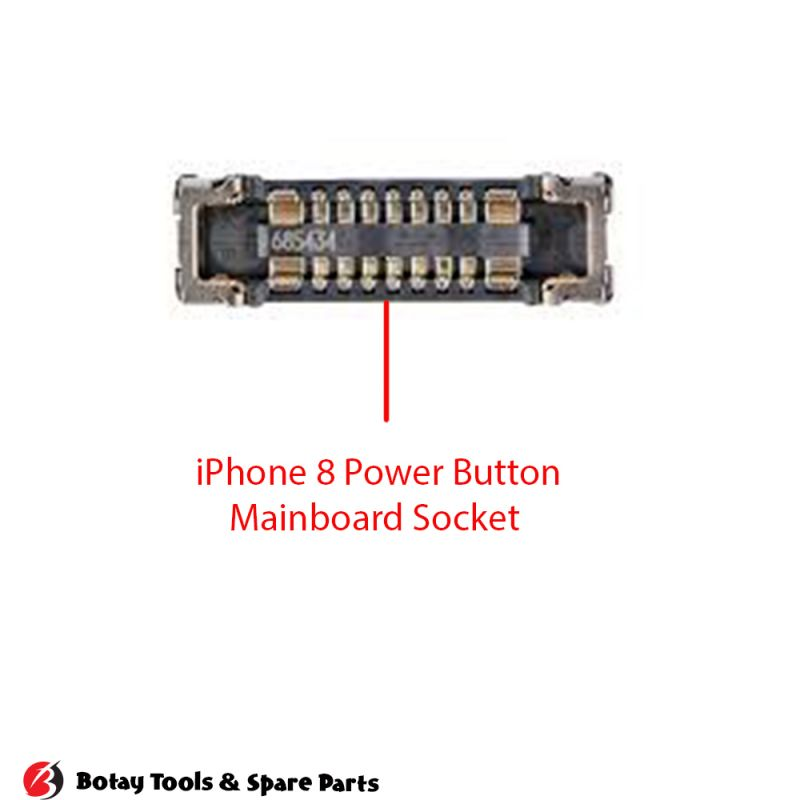 iPhone 8-8 Plus Power Button FPC Connector Port Onboard #22 pins #J4300
