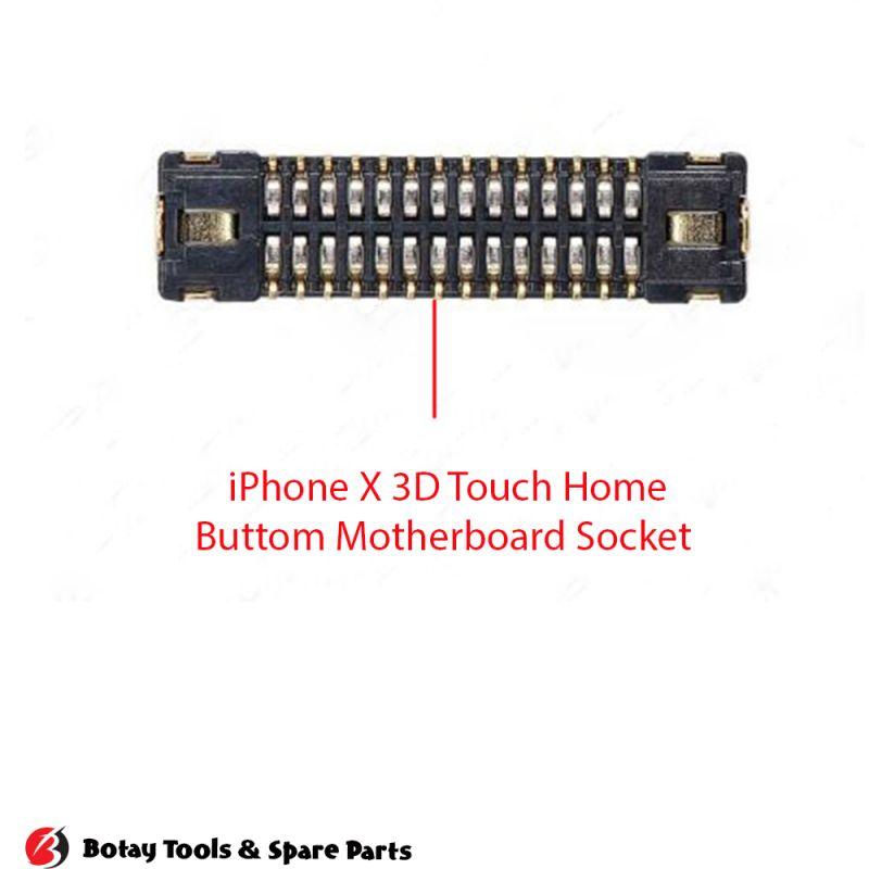 iPhone X-XS-XS Max Digitizer FPC Connector Port Onboard #34 pins #J5800 #AA26DK-S028VA1