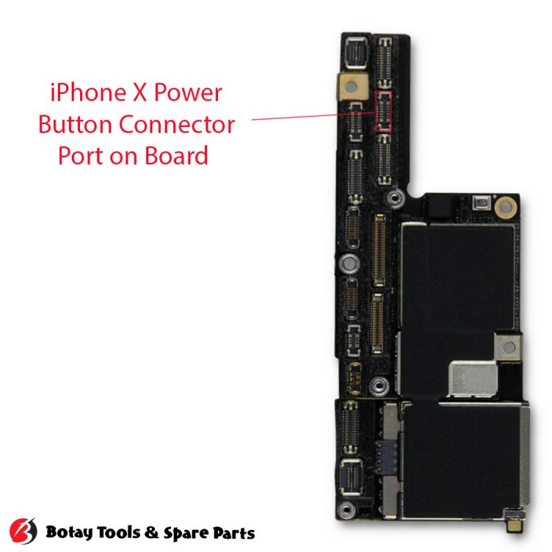 iPhone X Power Button FPC Connector Port Onboard #18 pins #J4300 #AA36D-S010VA1