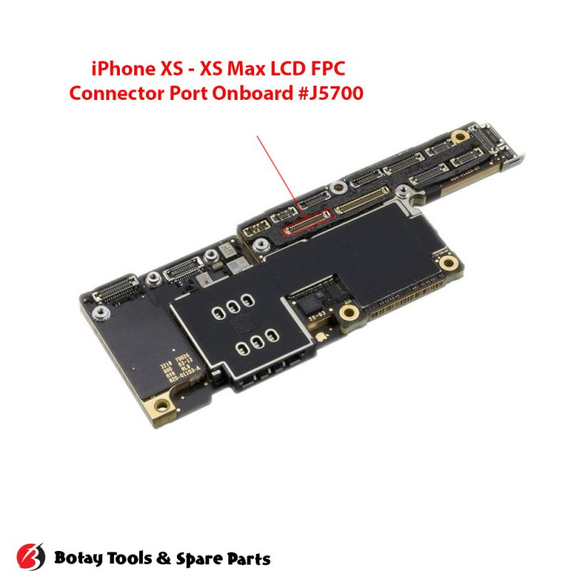 iPhone X-XS-XS Max LCD FPC Connector Port Onboard #38 pins #J5700 #BM28P0.6-34DS/2-0.35V