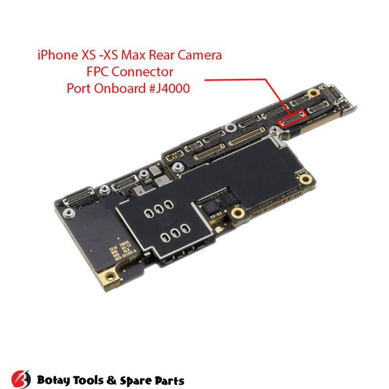 iPhone X-XS-XS Max-11 Pro-11 Pro Max Rear Camera FPC Connector Port Onboard #32 pins #J4000 #AA26DK-S026VA1