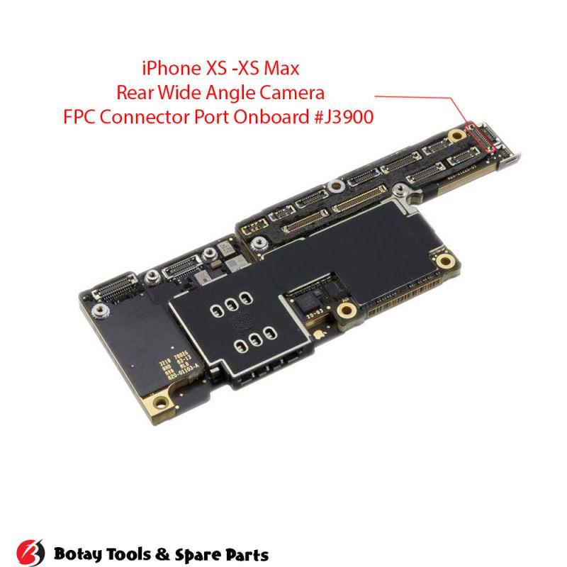 iPhone XR Rear Camera FPC Connector Port Onboard #32 pins #J3900 #AA26DK-S026VA1